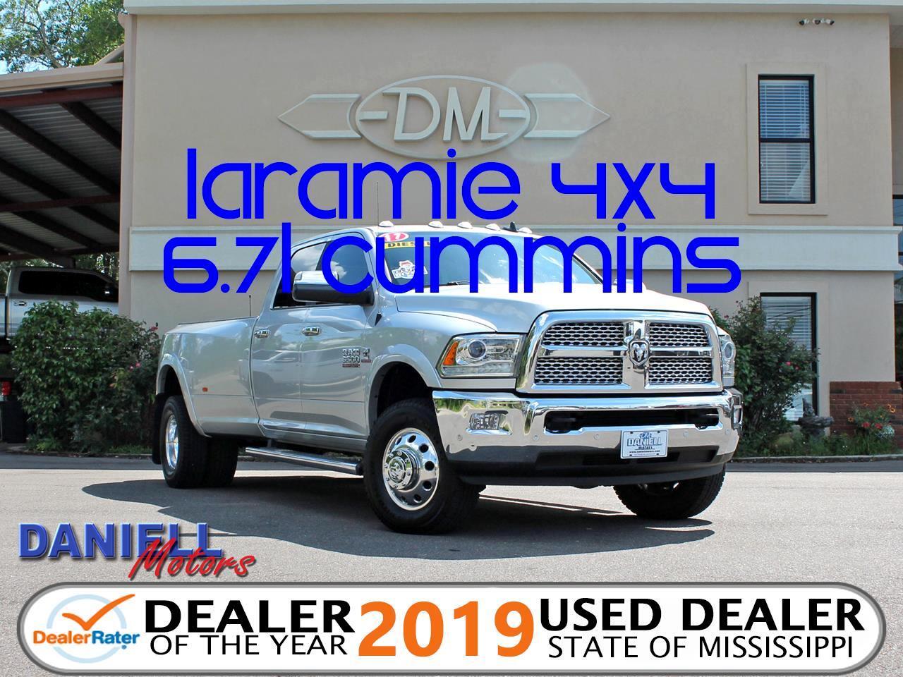 2017 RAM 3500 Laramie Crew Cab LWB 4WD DRW