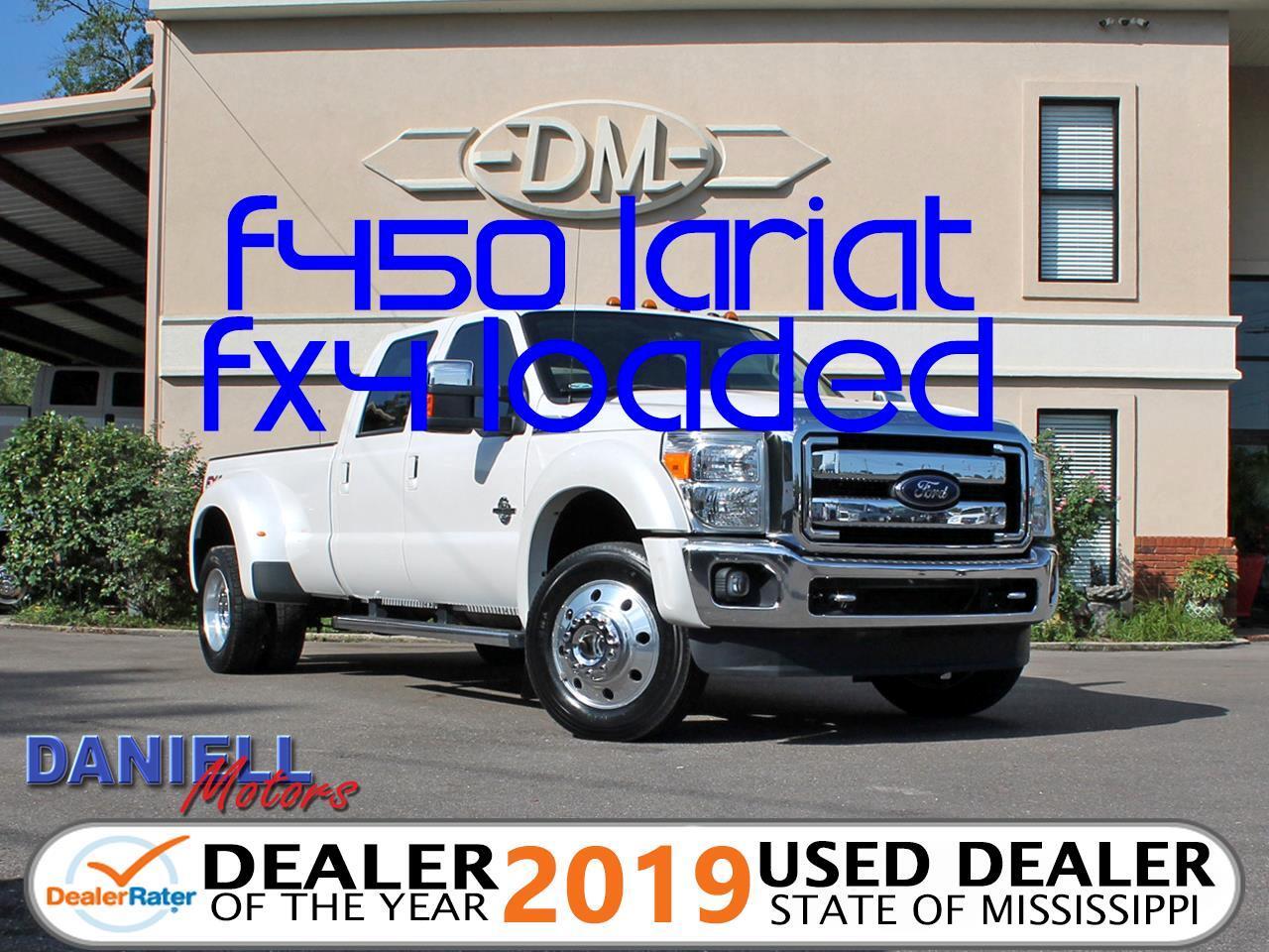 2016 Ford F-450 SD Lariat Crew Cab DRW 4WD