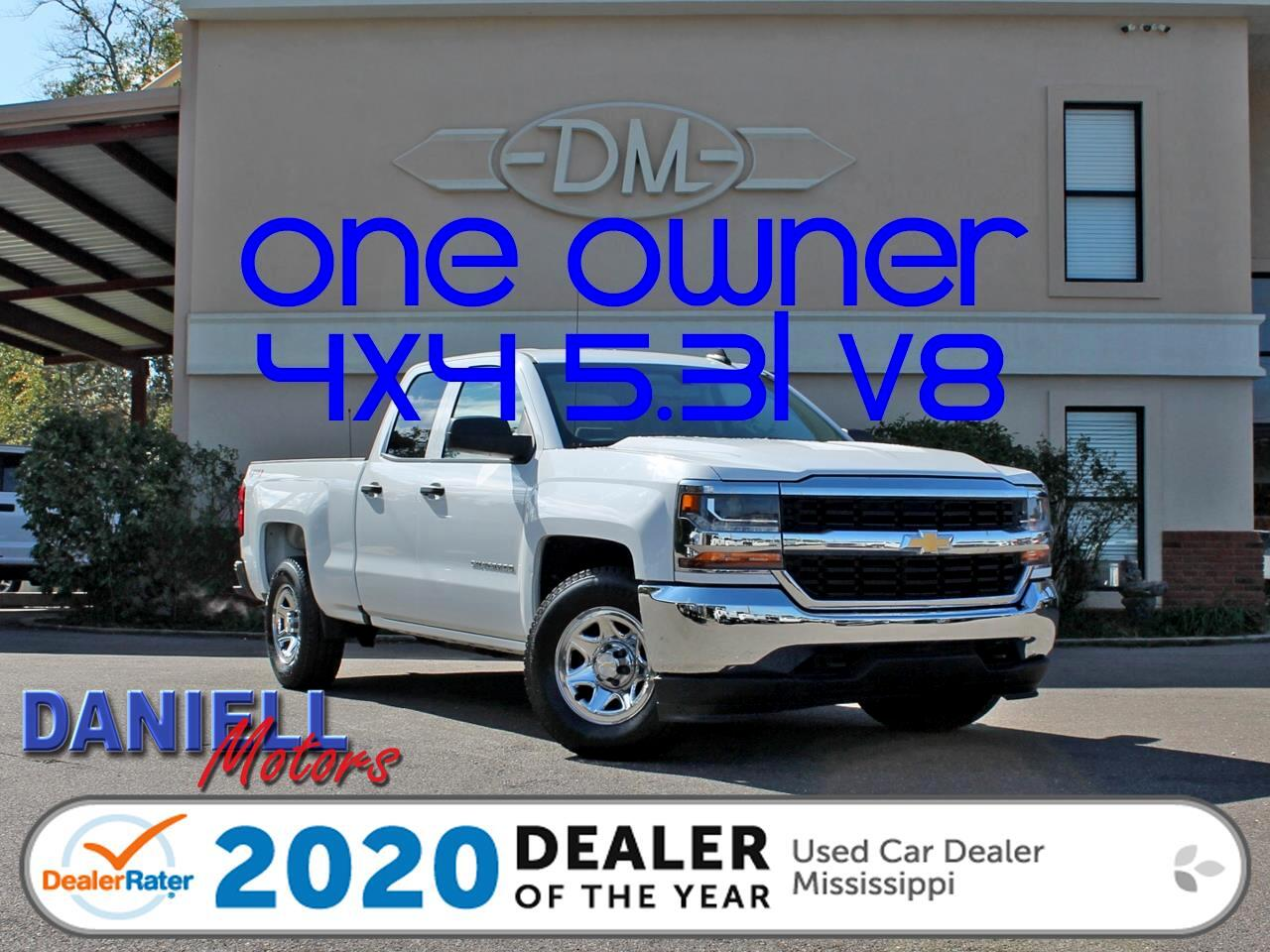 Chevrolet Silverado 1500 Work Truck Double Cab 4WD 2017