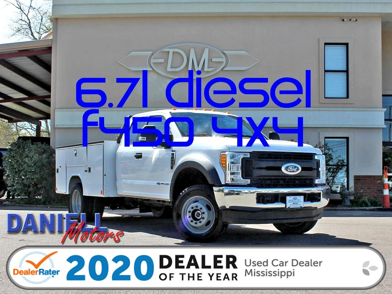 Ford F-450 SD SuperCab DRW 4WD 2017
