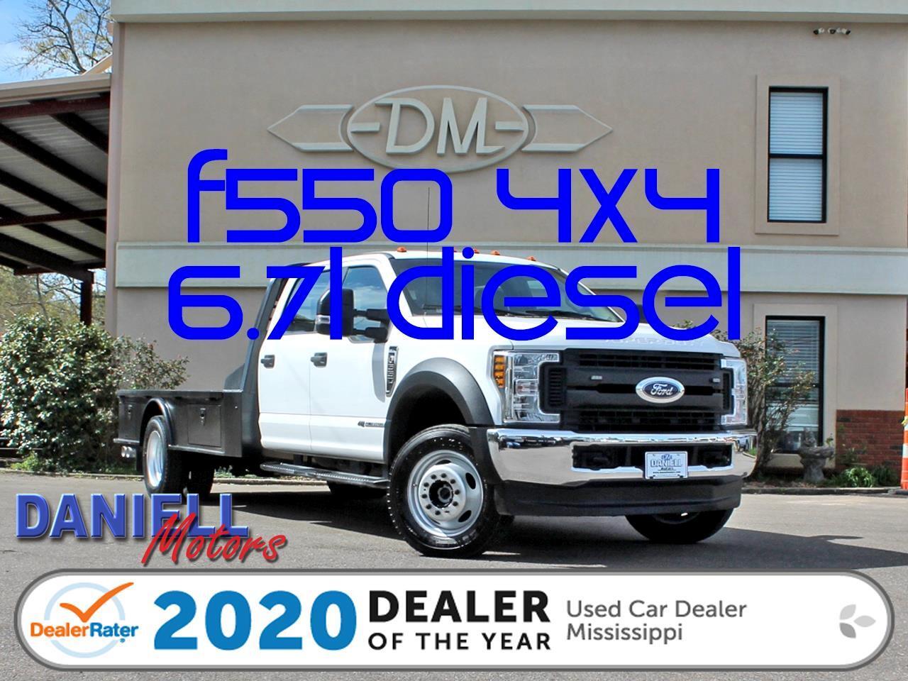 Ford F-550 Crew Cab DRW 4WD 2018