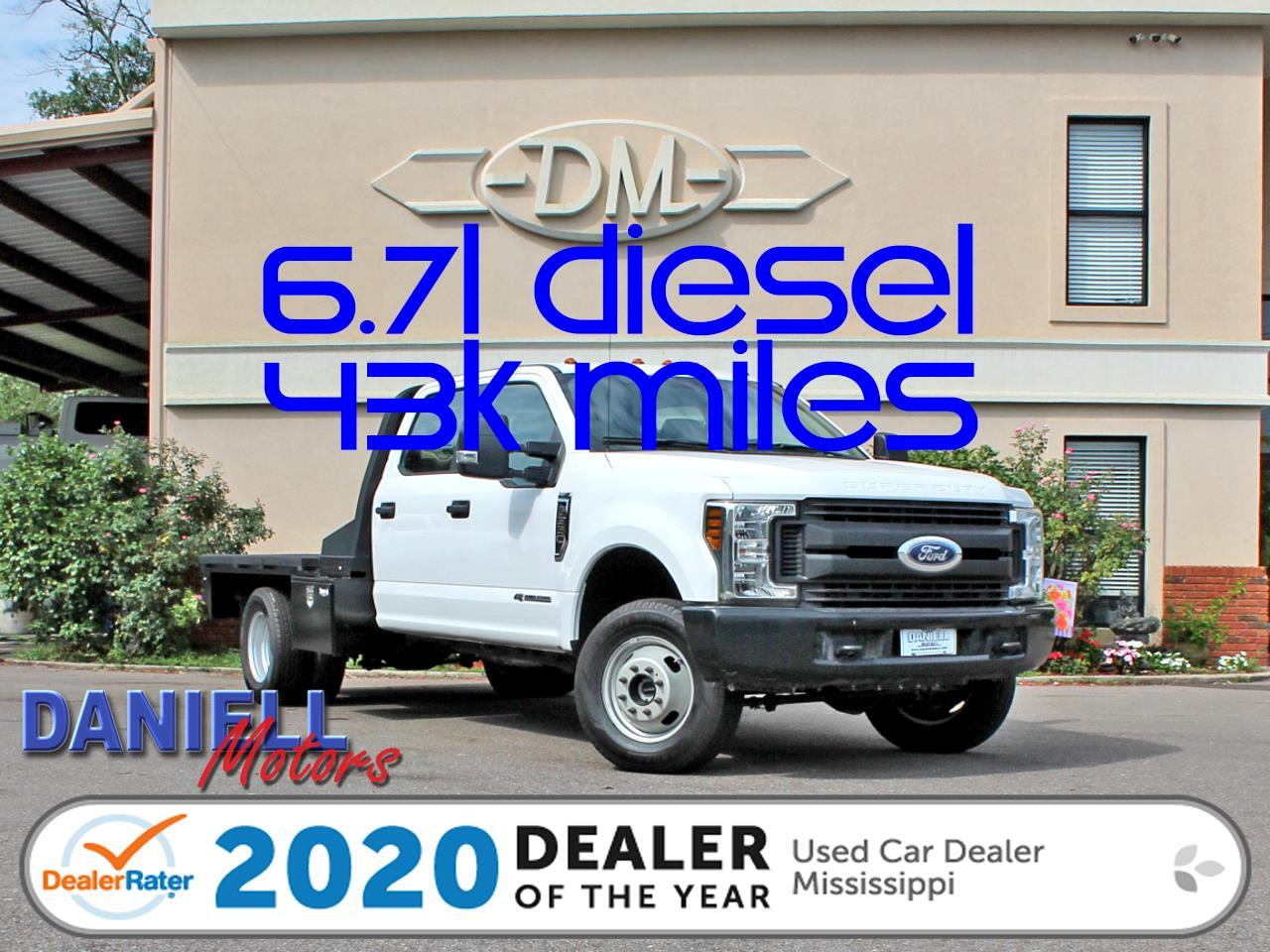 Ford F-350 SD XL Crew Cab Long Bed DRW 4WD 2019