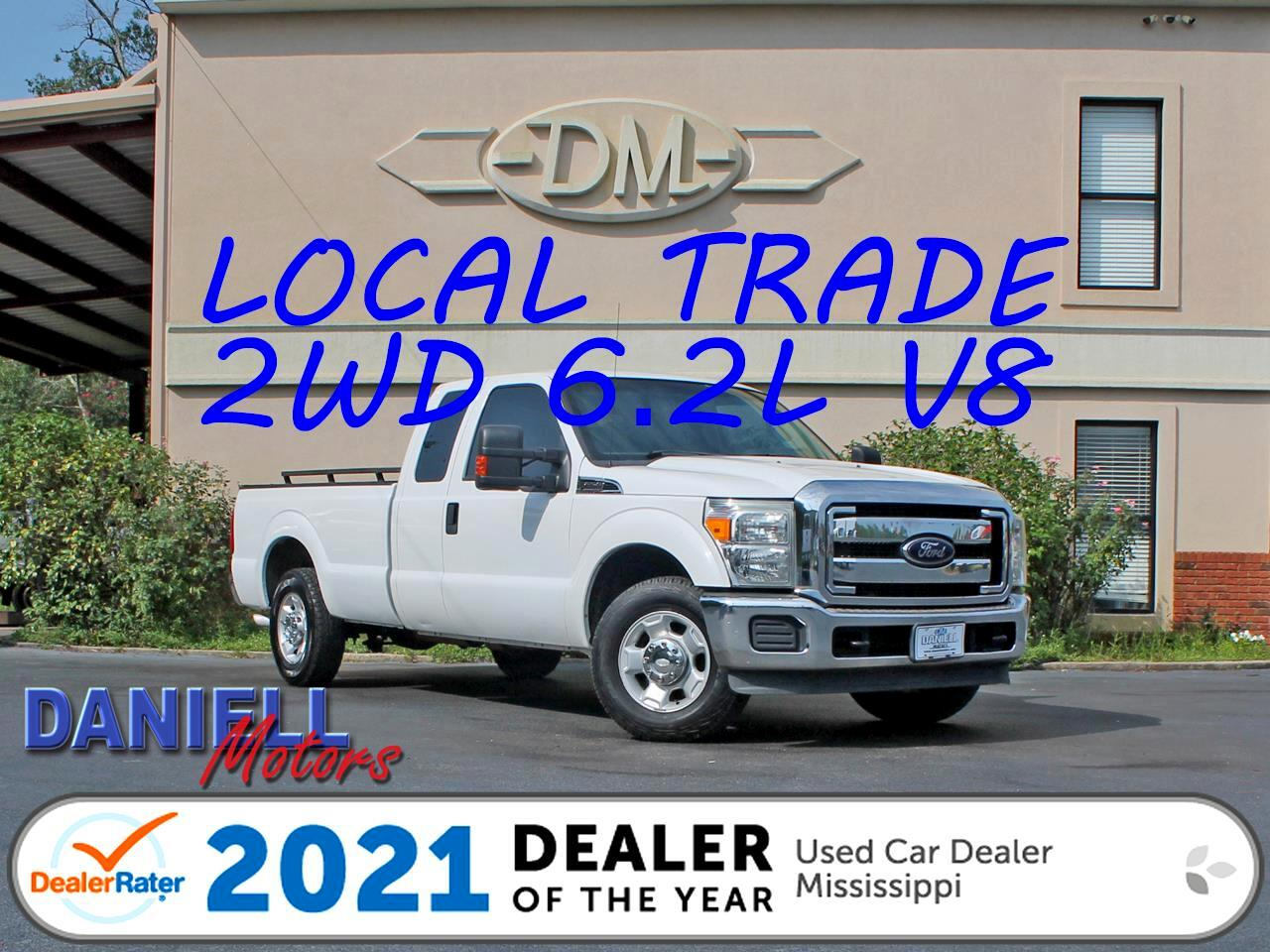 Ford F-250 SD XLT SuperCab Long Bed 2WD 2012