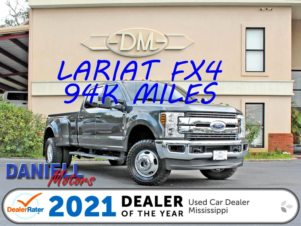 Ford F-350 SD Lariat Crew Cab Long Bed DRW 4WD 2018