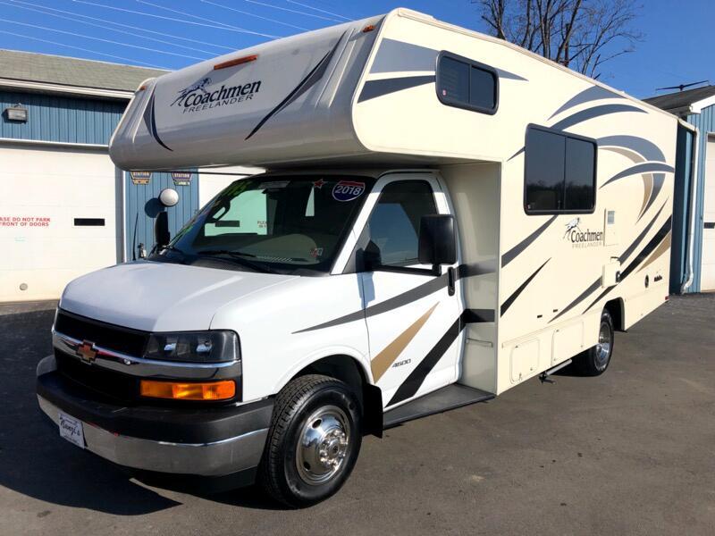 2018 Chevrolet Express Coachmen Freelander 21QB