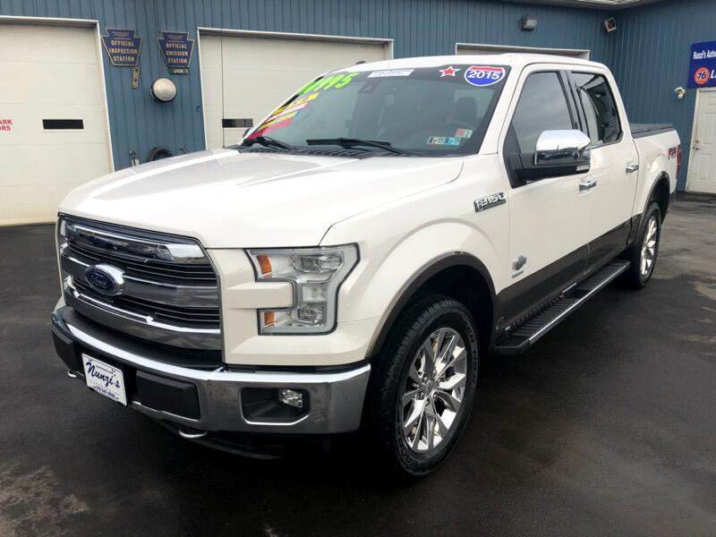 """2015 Ford F-150 4WD SuperCrew 139"""" King Ranch"""