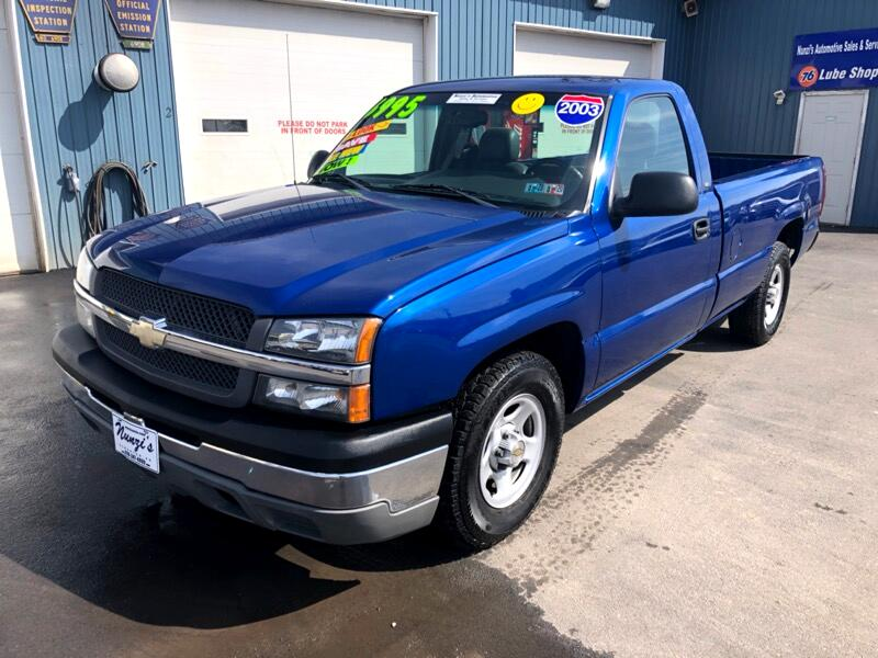 2003 Chevrolet Silverado 1500 Work Truck Long Bed 2WD