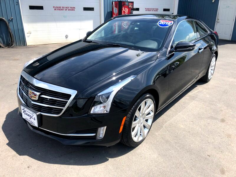 2016 Cadillac ATS Coupe 3.6L Performance AWD w/Driver Assist Pkg.