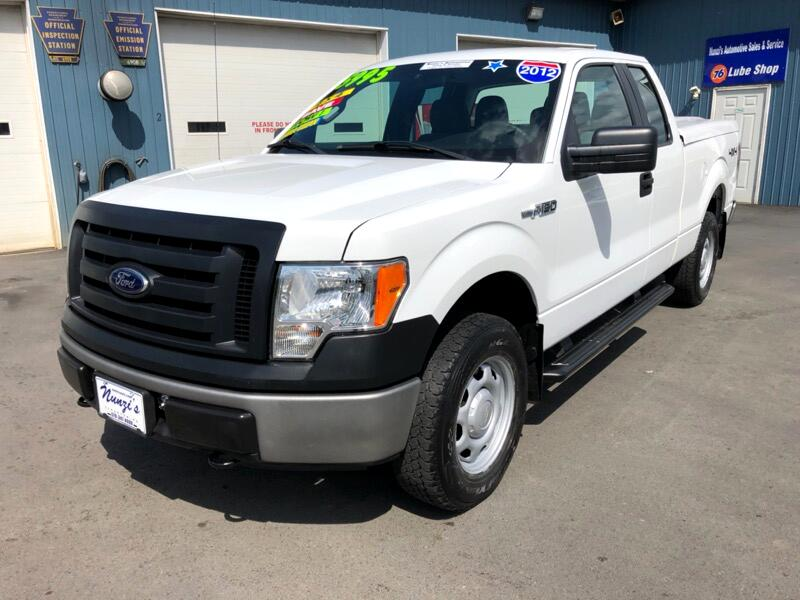 2012 Ford F-150 XL SuperCab Short Bed 4WD