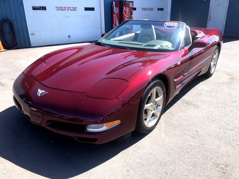 2003 Chevrolet Corvette 50th Anniversary Convertible