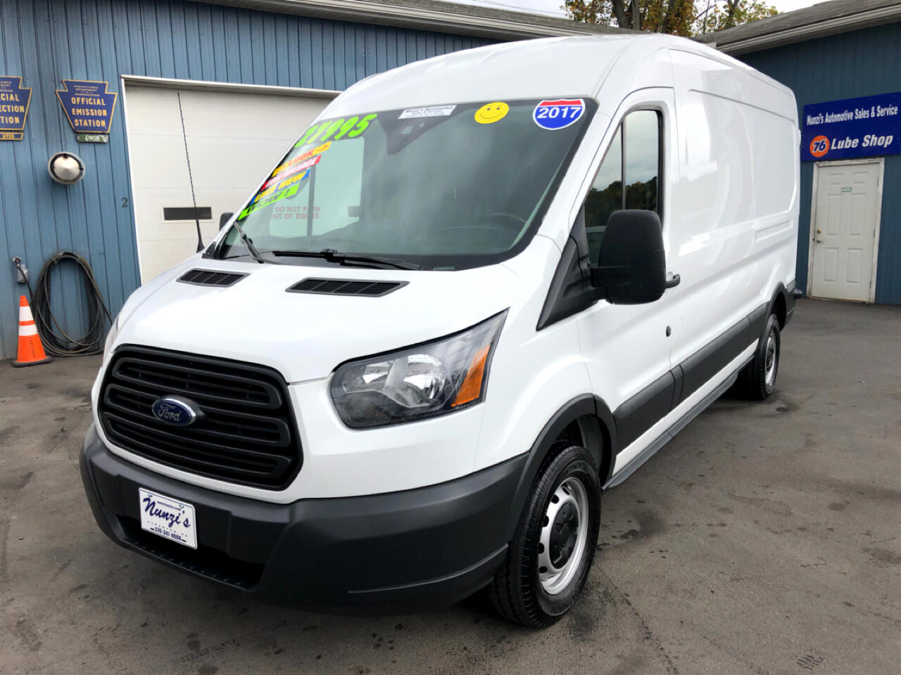 "2017 Ford Transit Van T-250 148"" Medium Roof"