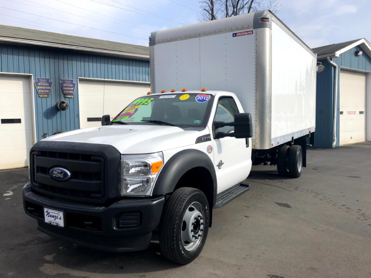 2012 Ford F-450 SD Box Truck