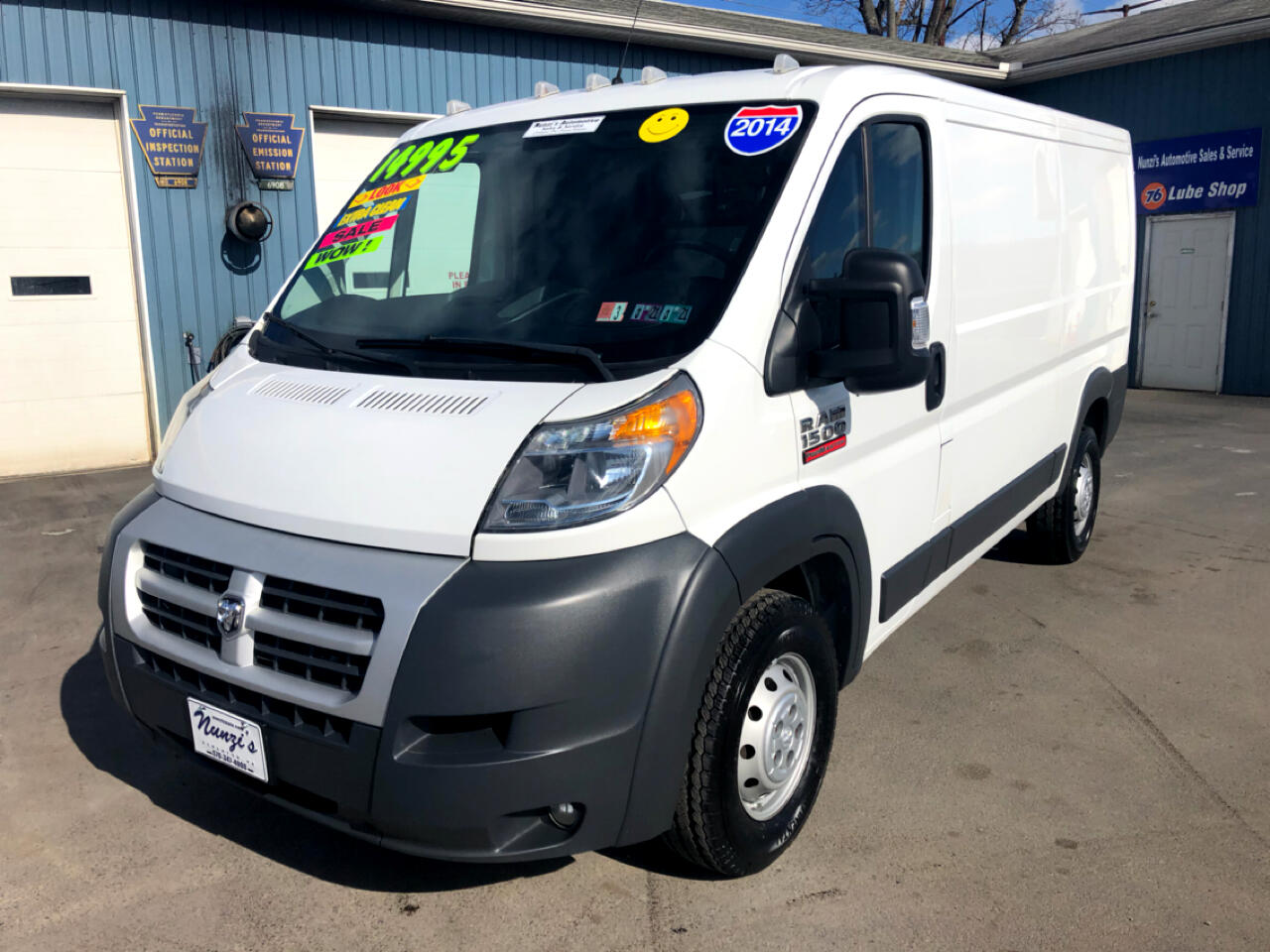 """RAM Promaster 1500 Low Roof 136"""" WB 2014"""