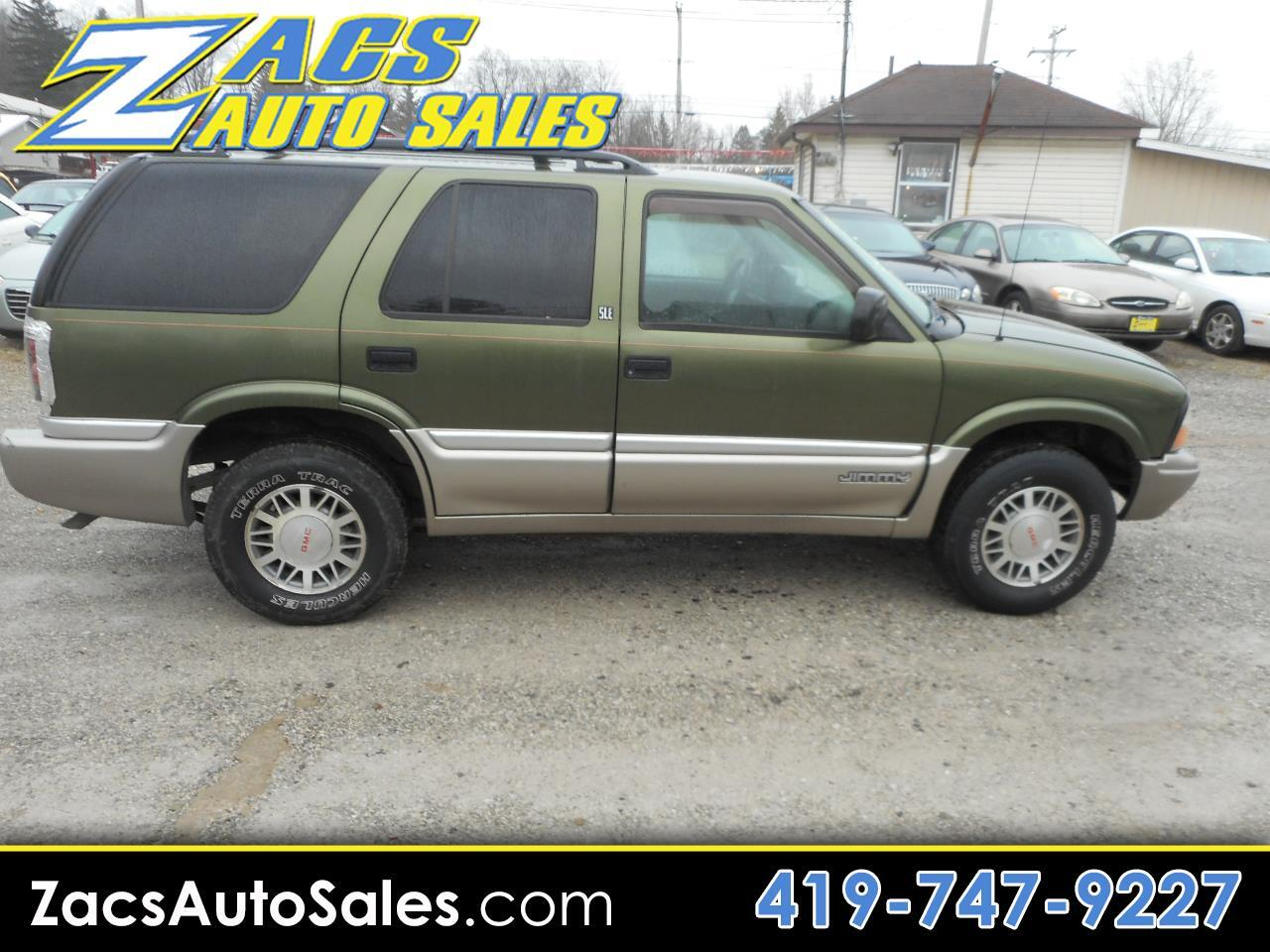 2001 GMC Jimmy SLE 4-Door 4WD