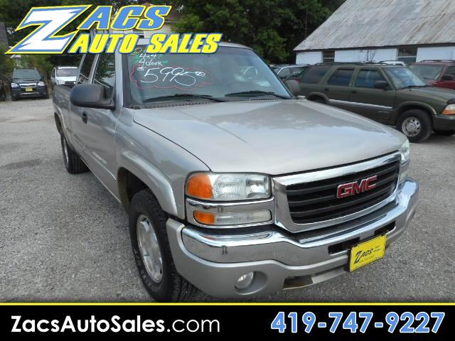 GMC Sierra 1500 SLE Ext. Cab Short Bed 4WD 2004