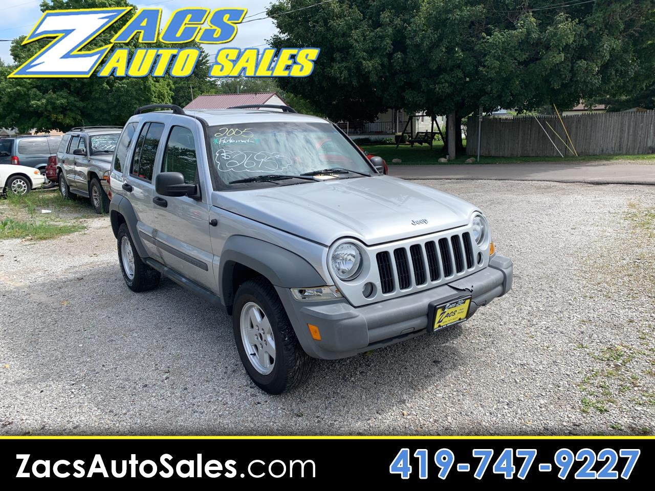 Jeep Liberty Sport 4WD 2005