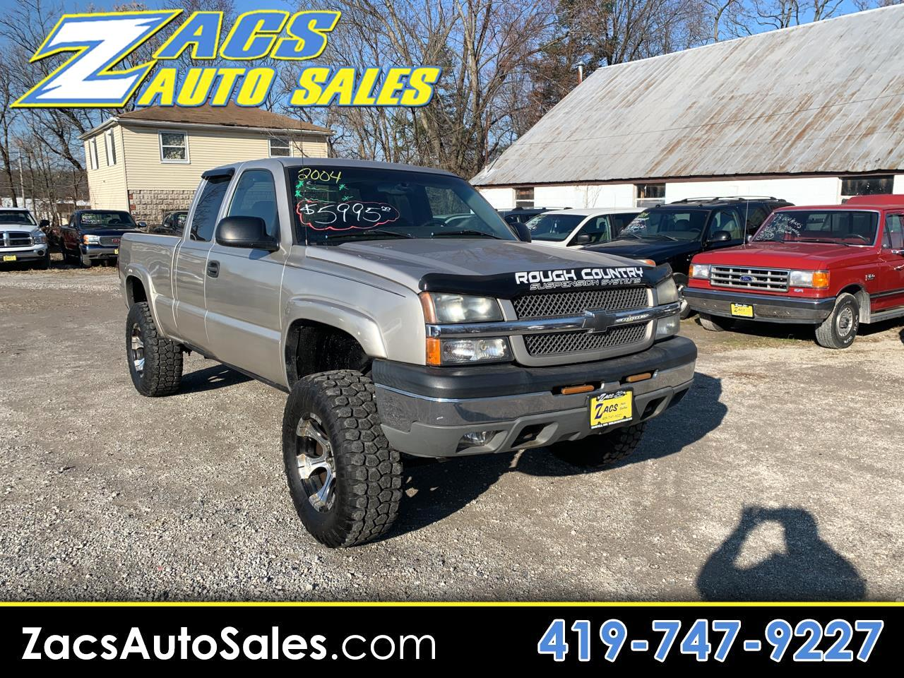 Chevrolet Silverado 1500 Z71 Ext. Cab Short Bed 4WD 2004