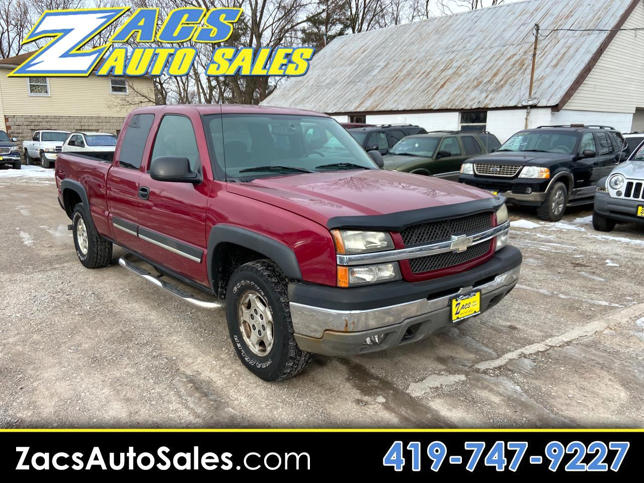 Chevrolet Silverado 1500 LT Ext. Cab Short Bed 4WD 2004