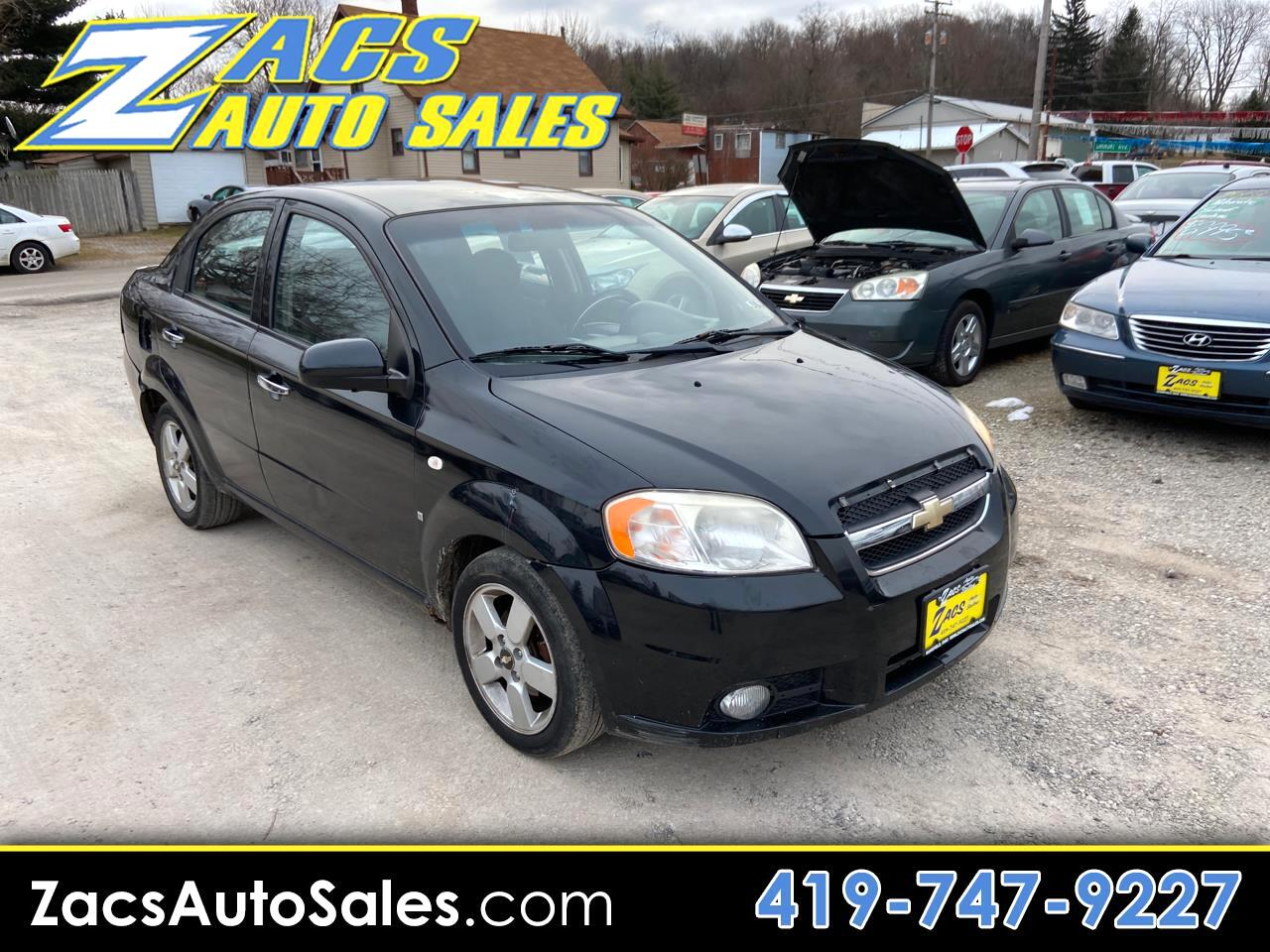 Chevrolet Aveo LT 4-Door 2008