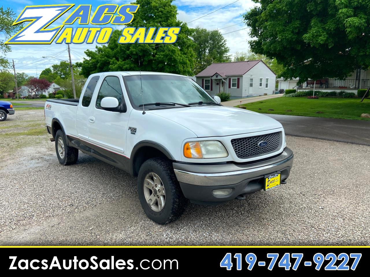 Ford F-150 Lariat SuperCab Short Bed 4WD 2002