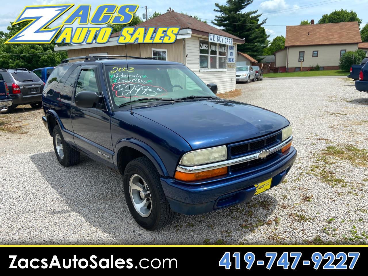 Chevrolet Blazer 2-Door 2WD LS 2003