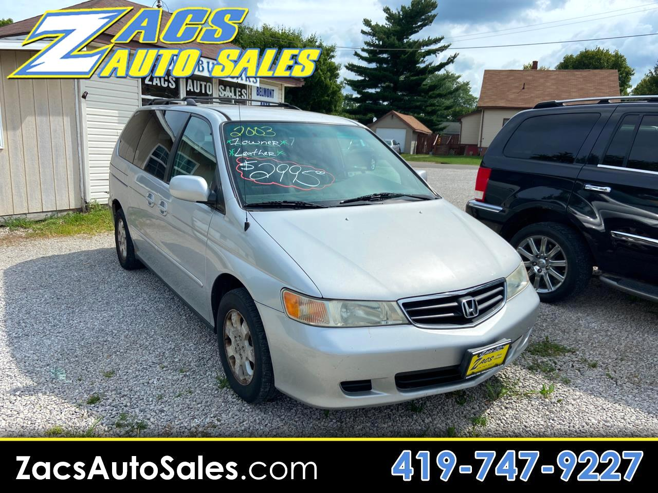 Honda Odyssey EX w/ Leather and DVD 2003