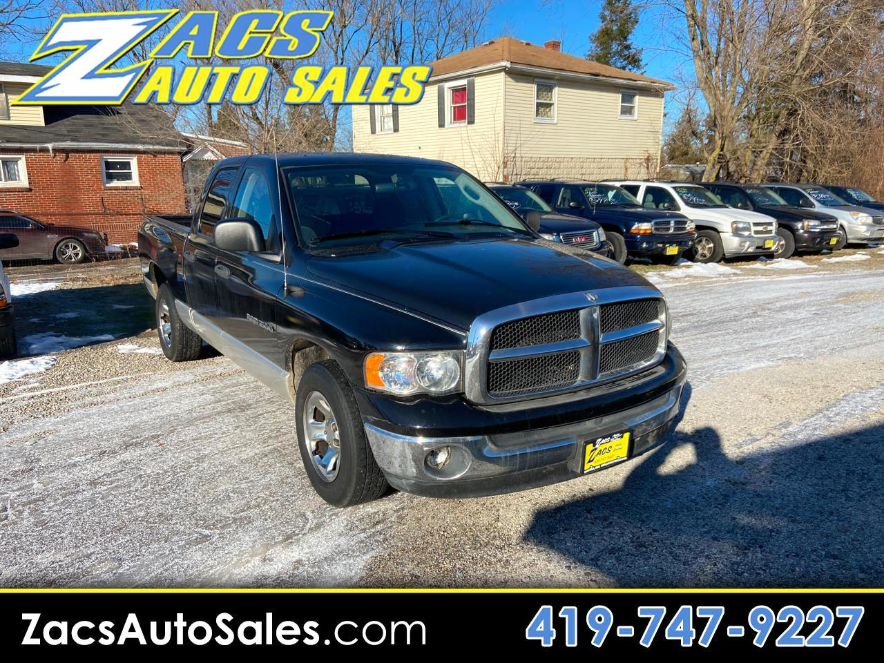 Dodge Ram 1500 Laramie Quad Cab Short Bed 2WD 2003