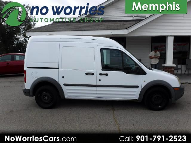 2010 Ford Transit Connect XL with Side and Rear Door Glass