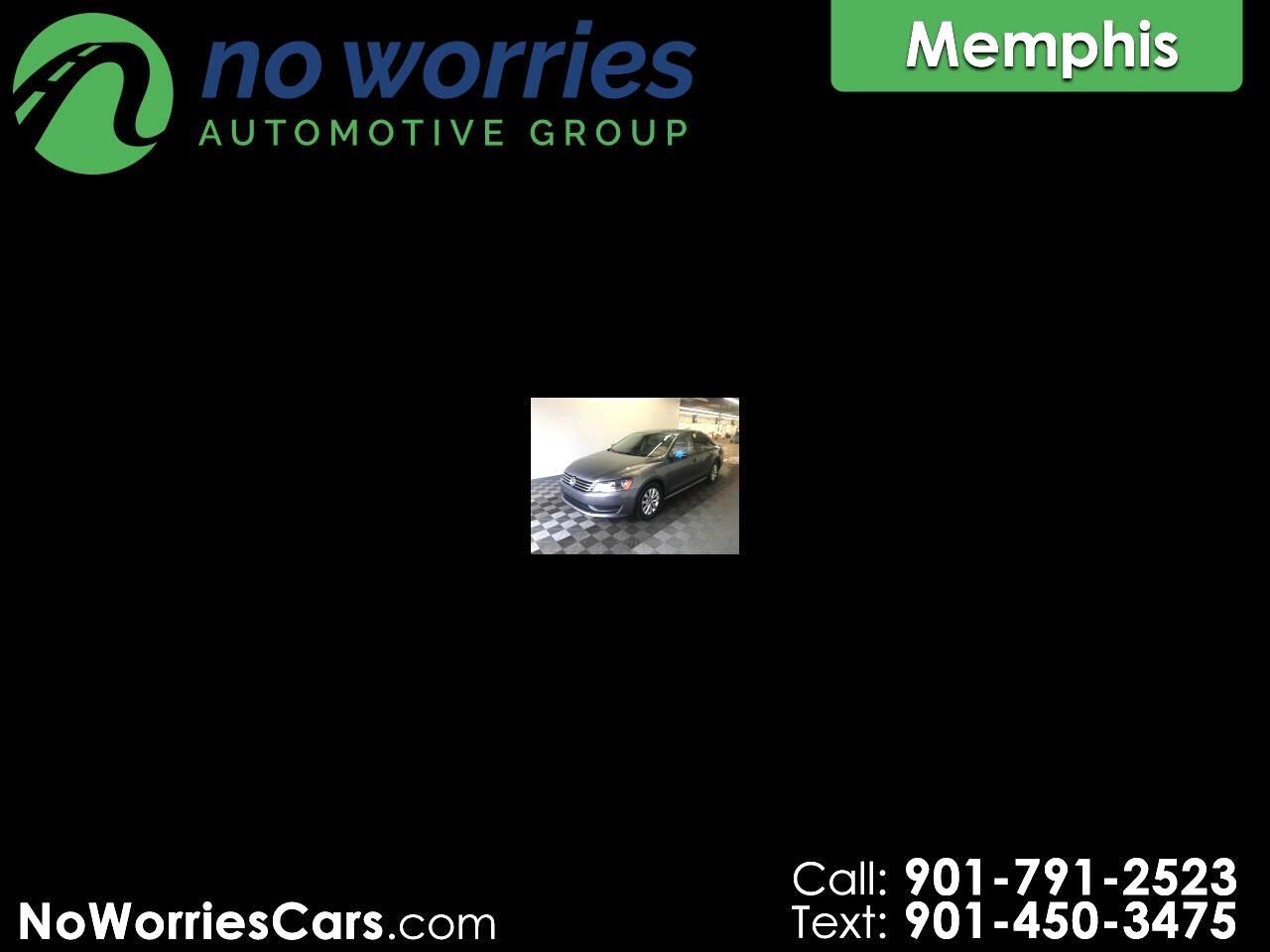 Volkswagen Passat 2.5L S W/Appearance 2012