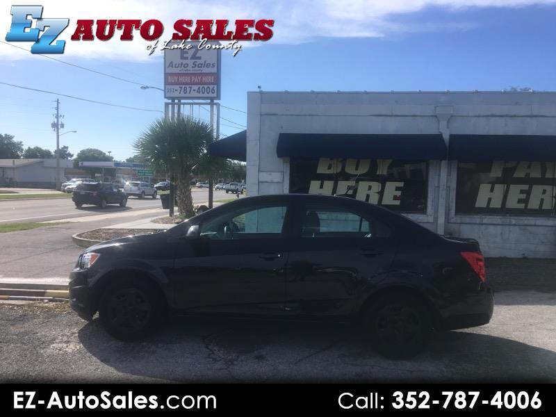 2013 Chevrolet Sonic LS Manual Sedan
