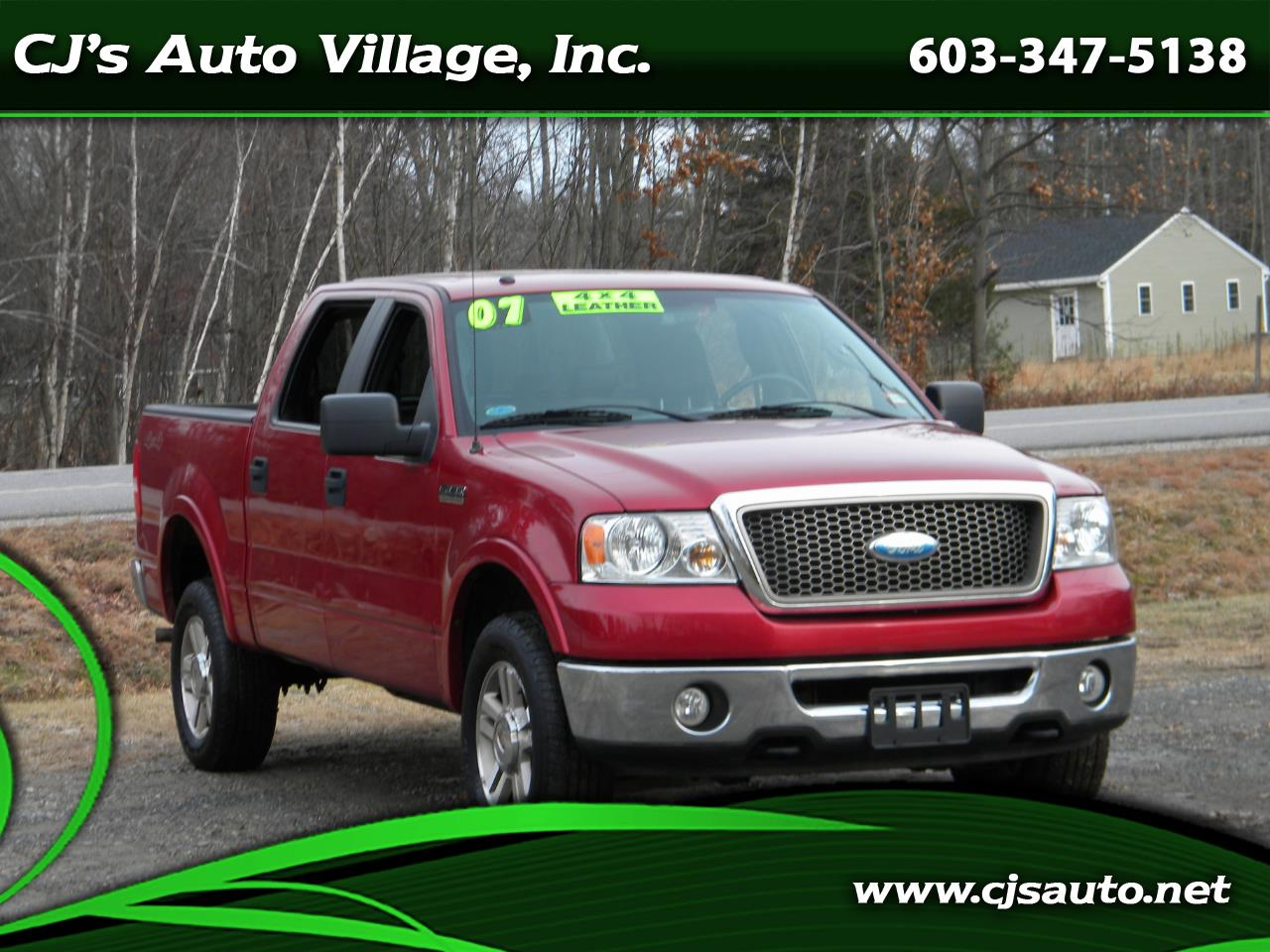 2007 Ford F-150 4WD SuperCrew 157