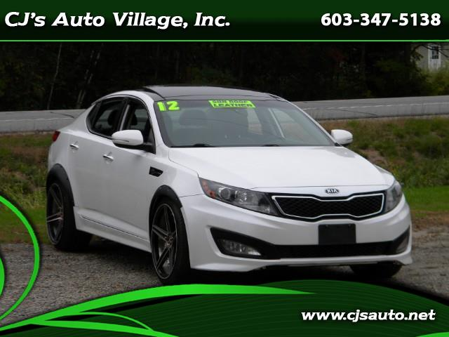Kia Optima 4dr Sdn SX Turbo 2012