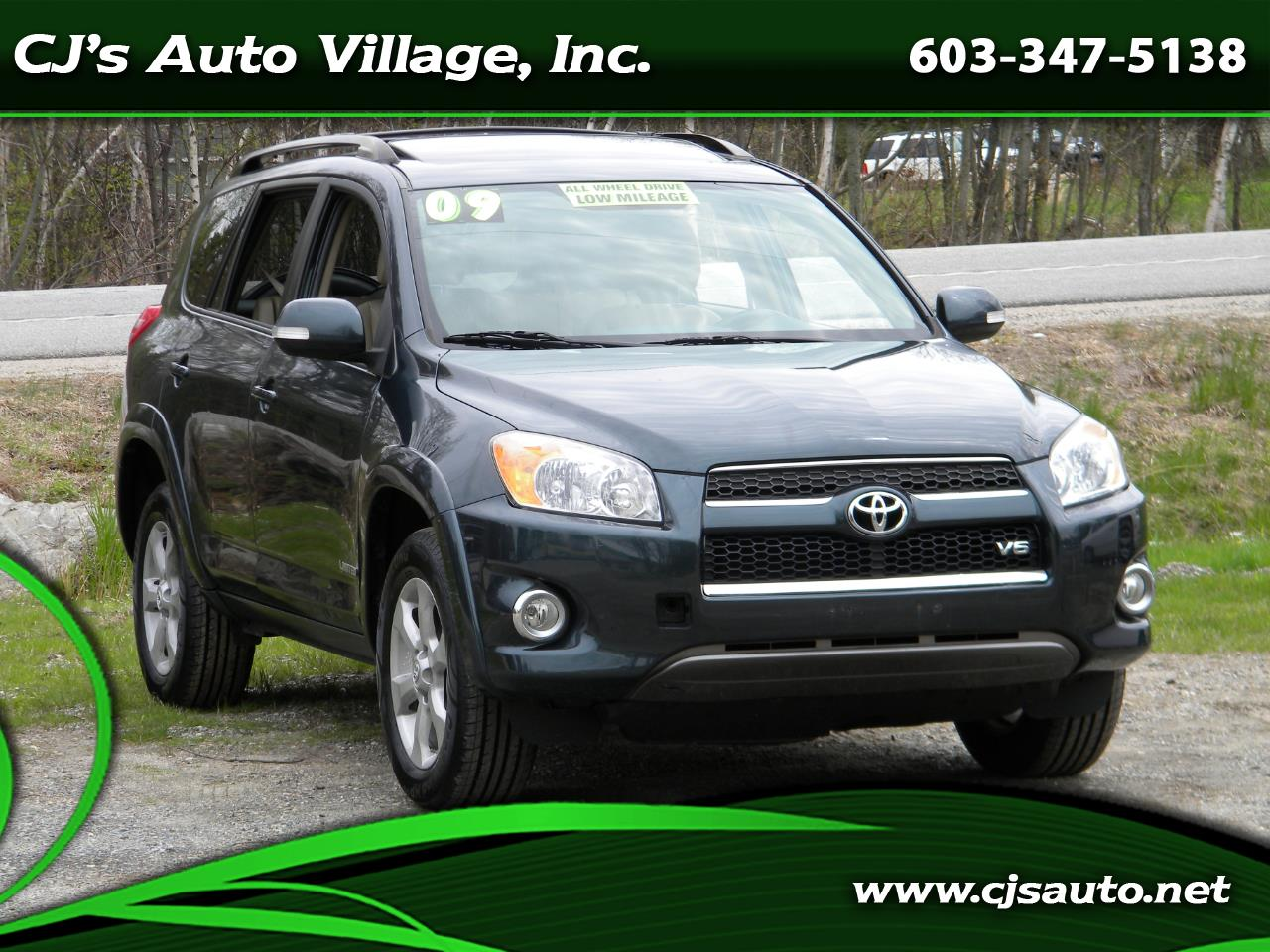 2009 Toyota RAV4 4WD 4dr V6 5-Spd AT Ltd (Natl)