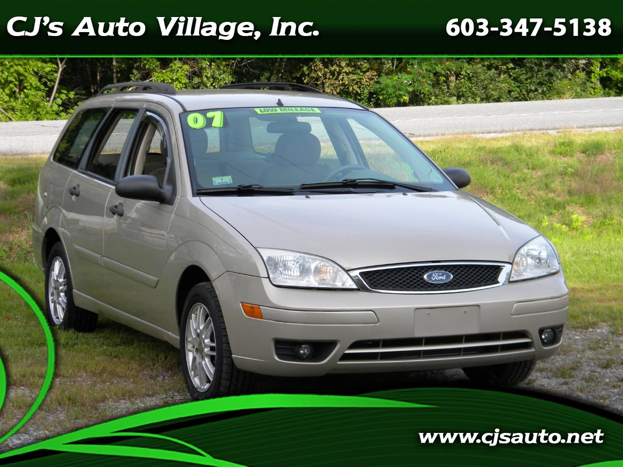 2007 Ford Focus 4dr Wgn ZXW SES
