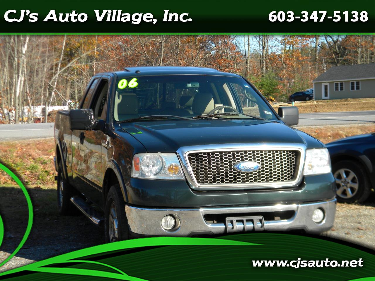 "Ford F-150 Supercab 133"" Lariat 4WD 2006"