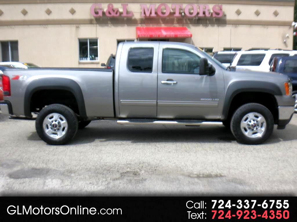 2012 GMC Sierra 2500HD 4WD Ext Cab 144.2