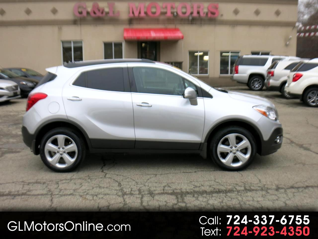 2016 Buick Encore AWD 4dr Convenience