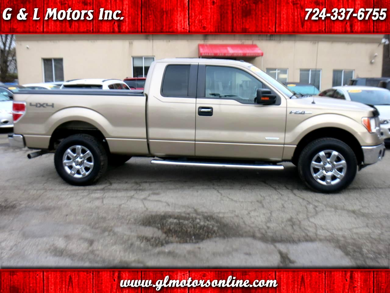 "2013 Ford F-150 4WD SuperCab 163"" XLT"