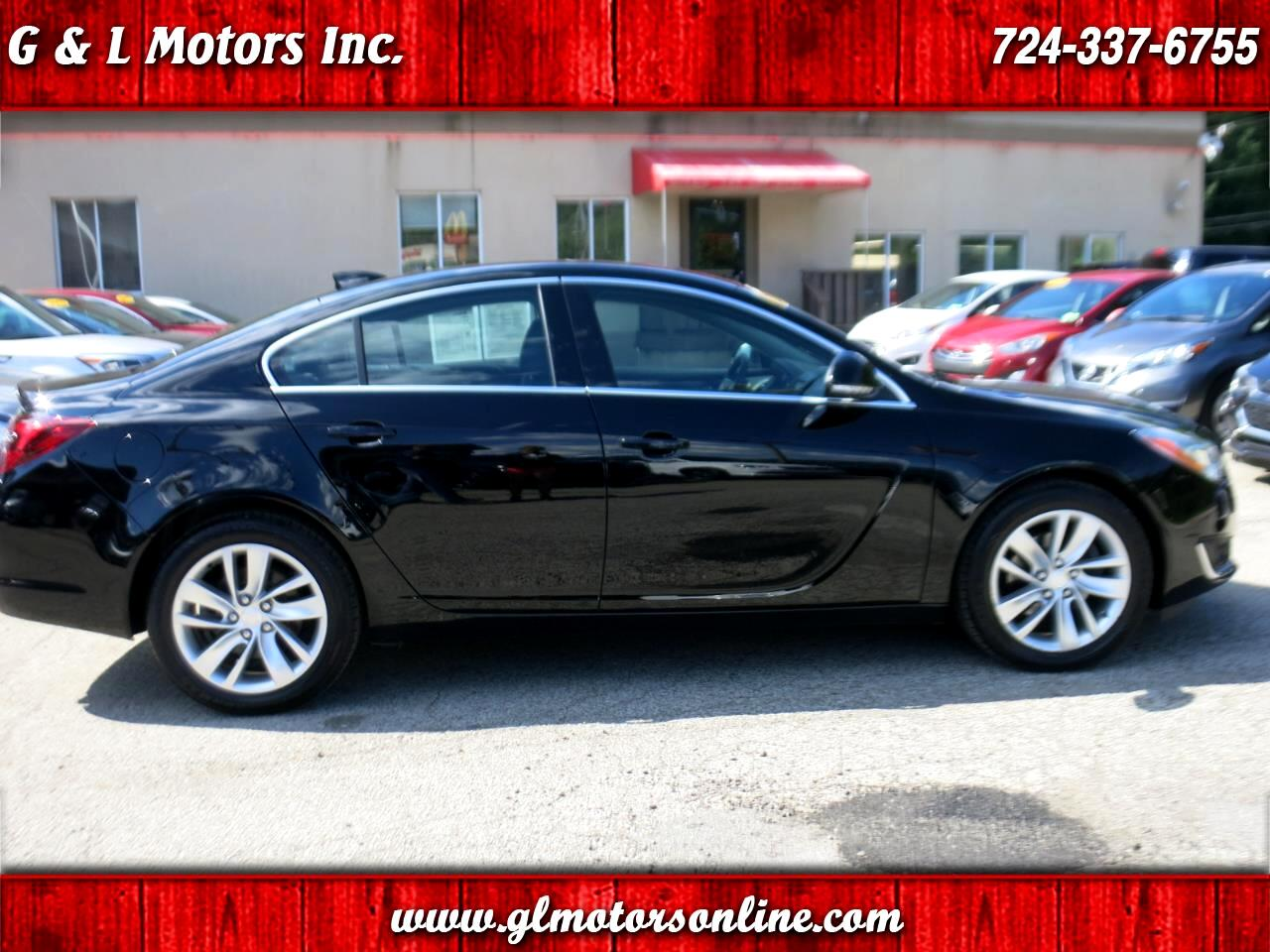 2016 Buick Regal 4dr Sdn Turbo AWD