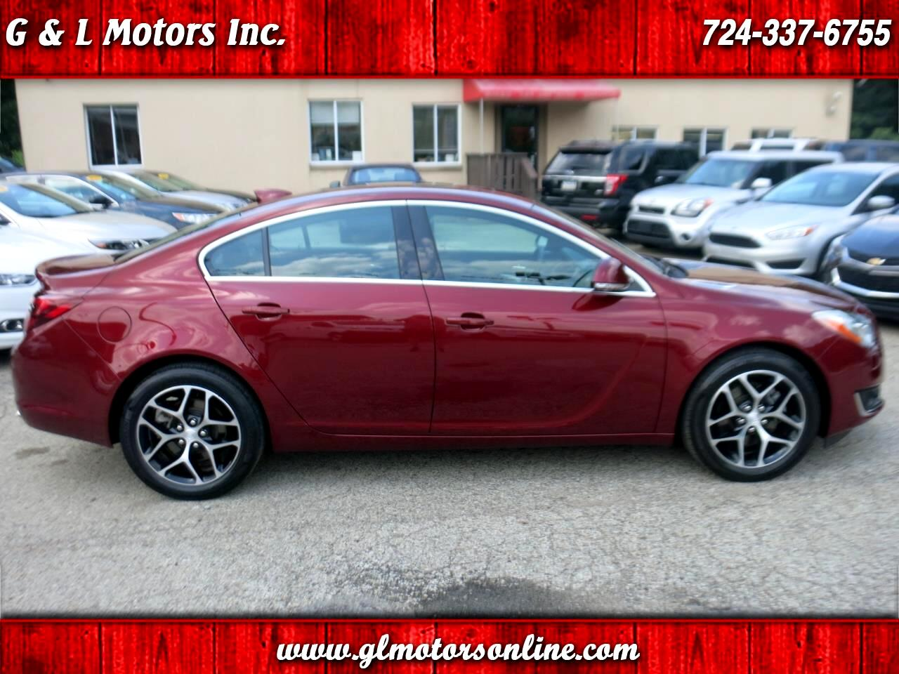2016 Buick Regal 4dr Sdn Sport Touring FWD