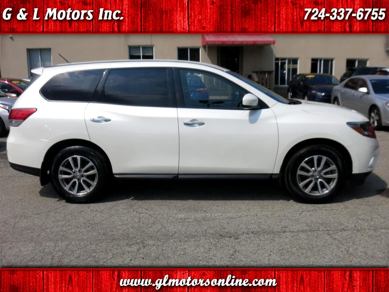 2015 Nissan Pathfinder 4WD 4dr S *Ltd Avail*