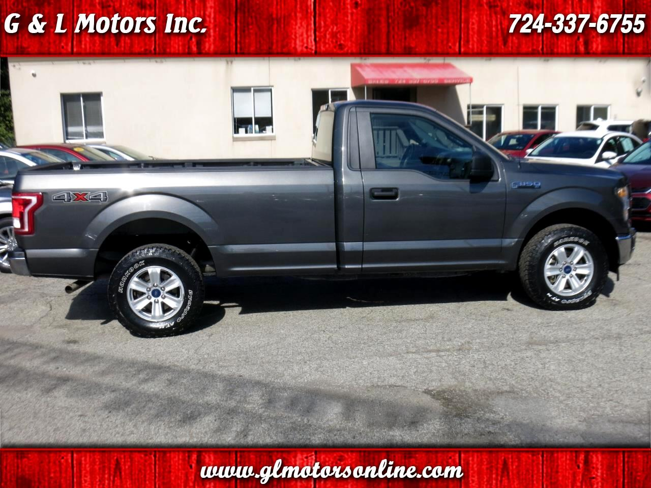 2017 Ford F-150 XLT 4WD Reg Cab 8' Box