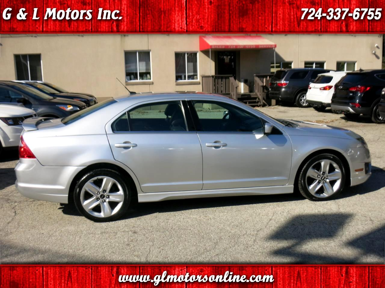 Ford Fusion 4dr Sdn SPORT AWD 2011