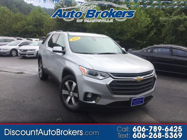 2018 Chevrolet Traverse AWD 4dr LT Leather w/3LT