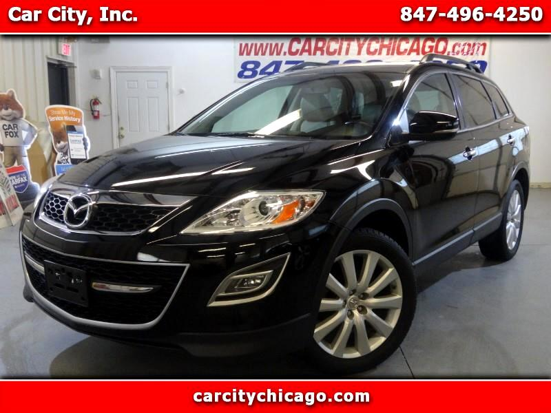 2010 Mazda CX-9 GRAND TOURING AWD WITH NAVI AND DVD