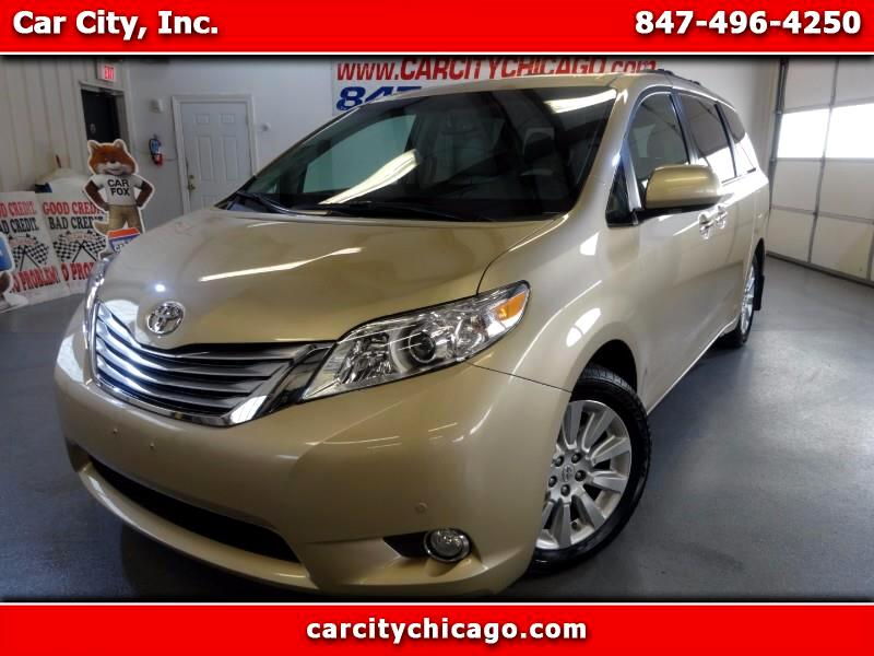 2011 Toyota Sienna LIMITED FULLY LOADED 1OWNER VAN ONLY 42K