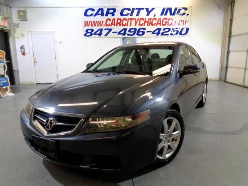 Acura TSX 6-Spd MT with Navigation System 2005
