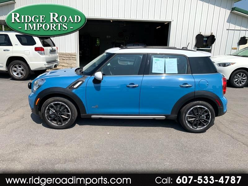 2017 MINI Roadster Countryman S ALL4 AWD