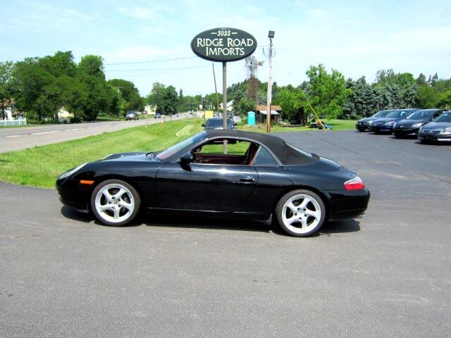 2001 Porsche 911 Carrera 2 Cabriolet