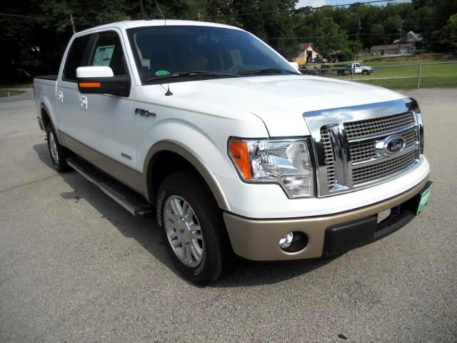 2012 Ford F-150 Lariat SuperCrew Short Box 2WD